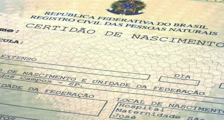Emissão de 2ª via de certidões de registro natural via internet